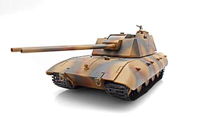 готовая модель танка E-100 Flak