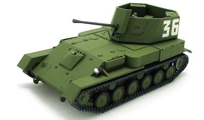 готовая модель танка ЗСУ-37 (1944)