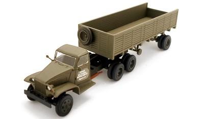 готовая модель грузовика GMC CCW 353