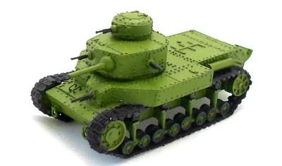готовая модель танка T-24