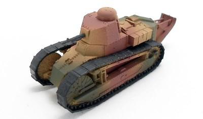 готовая модель танка Renault FT-17