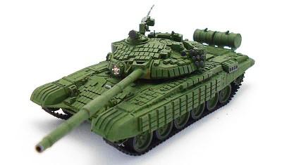 готовая модель танка Т-72БВ
