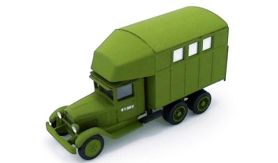 diecast truck PARM-2