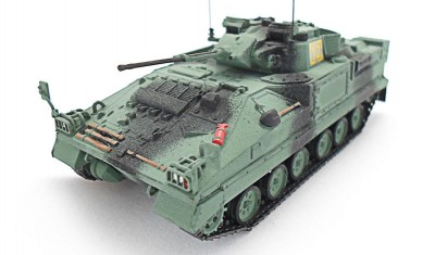 diecast tank Warrior MCV