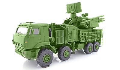 diecast military vehicle Panzir C1