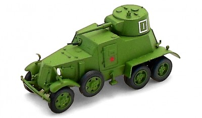 diecast military vehicle BA-6M
