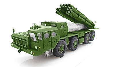 diecast military vehicle BM-30 Smerch