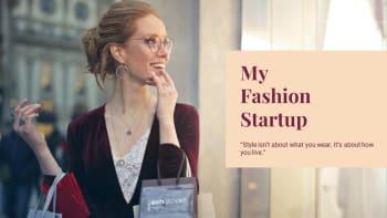 Fashion Startup Presentation Templates