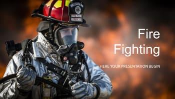 Fire Fighting Presentation Templates