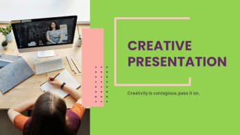 Florence Creative free powerpoint templates Download