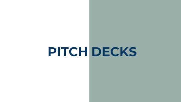 Pitchdeck PowerPoint Templates