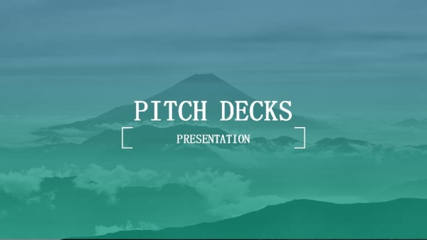 Classic Pitch Deck PowerPoint Templates Download