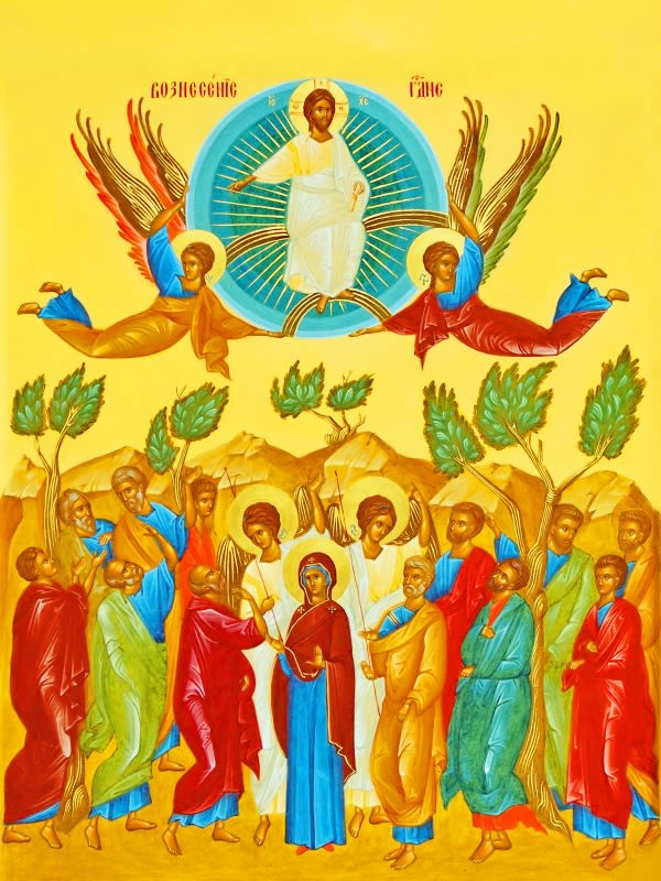Вдохновение духа. Стихи Вознесению Господню | Александр Петрович Ерёмин