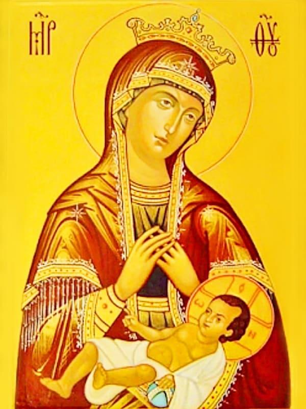 иконе Божией Матери Умиление Смоленская