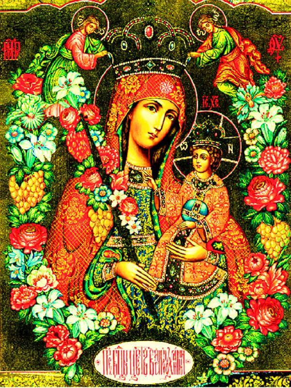 иконе Божией Матери Благоуханный Цвет