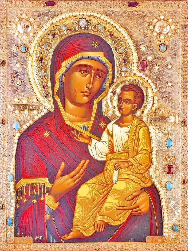 иконе Божией Матери Монреальской, Мироточивой
