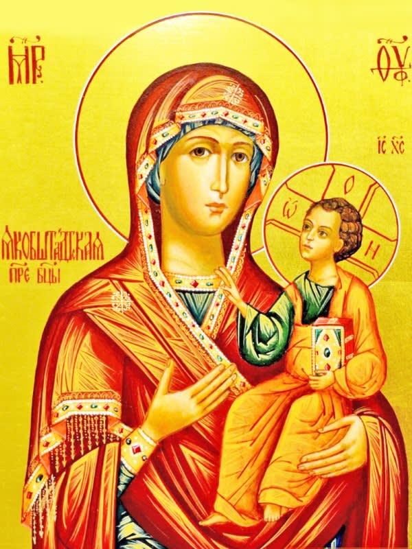 иконе Божией Матери Якобштадтской