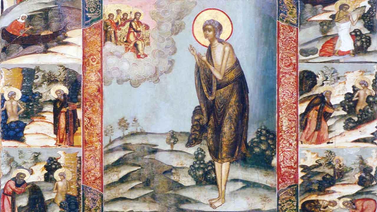 прп. Марии Египетской «Стояние Марии Египетской»
