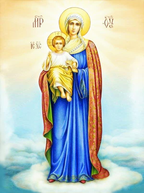 иконе Божией Матери «Благодатное Небо»