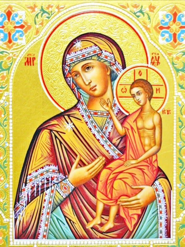 иконе Божией Матери «Воспитание»