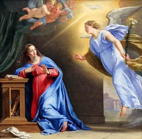 Благовещению Пресвятой Богородицы