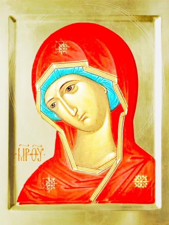 иконе Божией Матери «Огневидная»