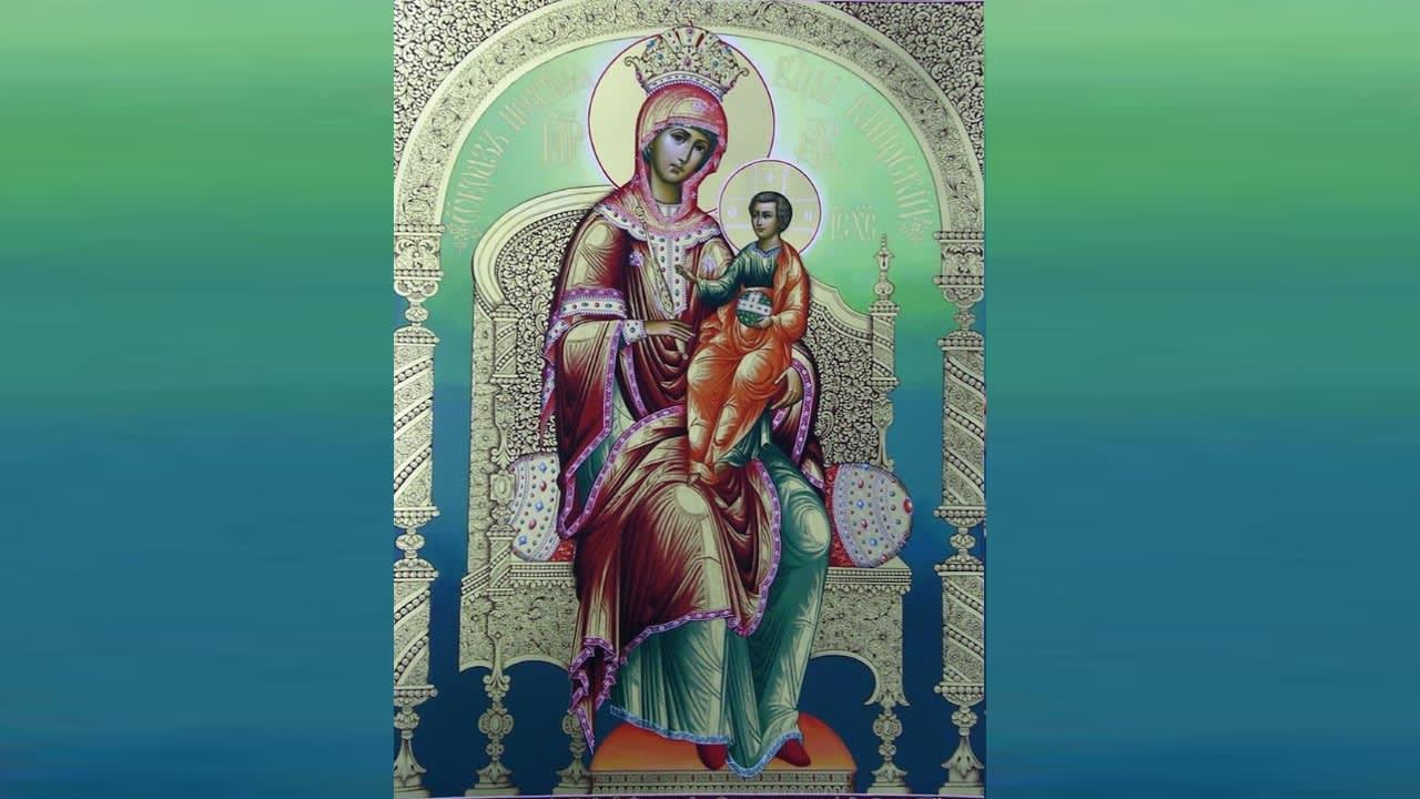 иконе Божией Матери Кипрская