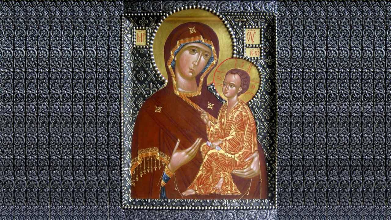 иконе Божией Матери Тихвинская