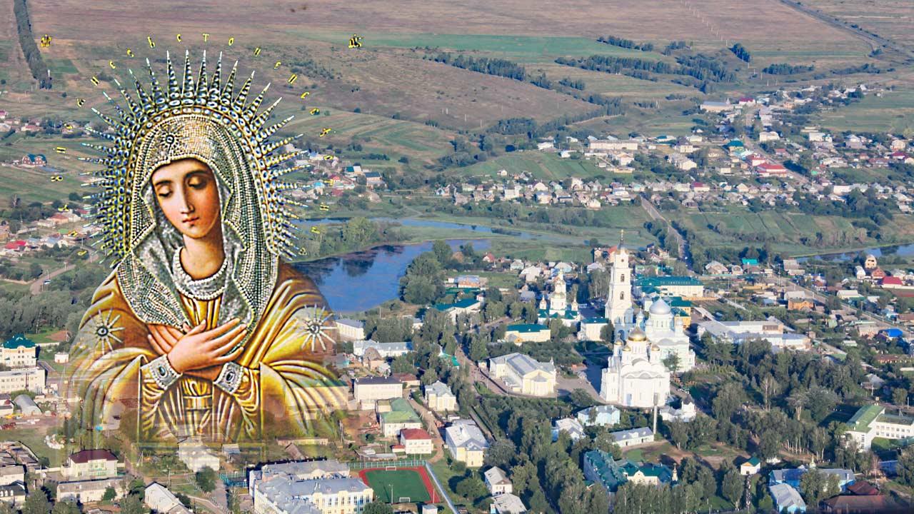 иконе Божией Матери «Умиление» Серафимо-Дивеевская