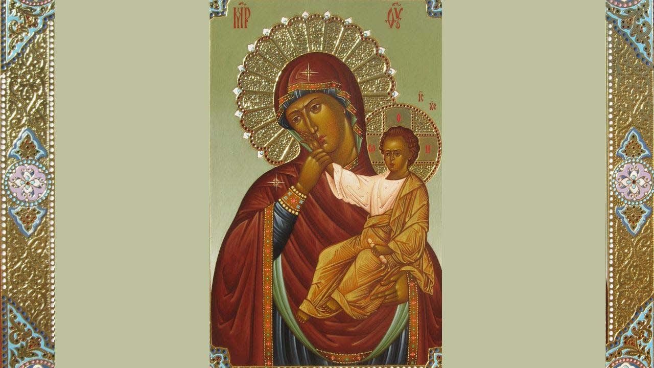 иконе Божией Матери «Отрада» («Утешение») Ватопедская