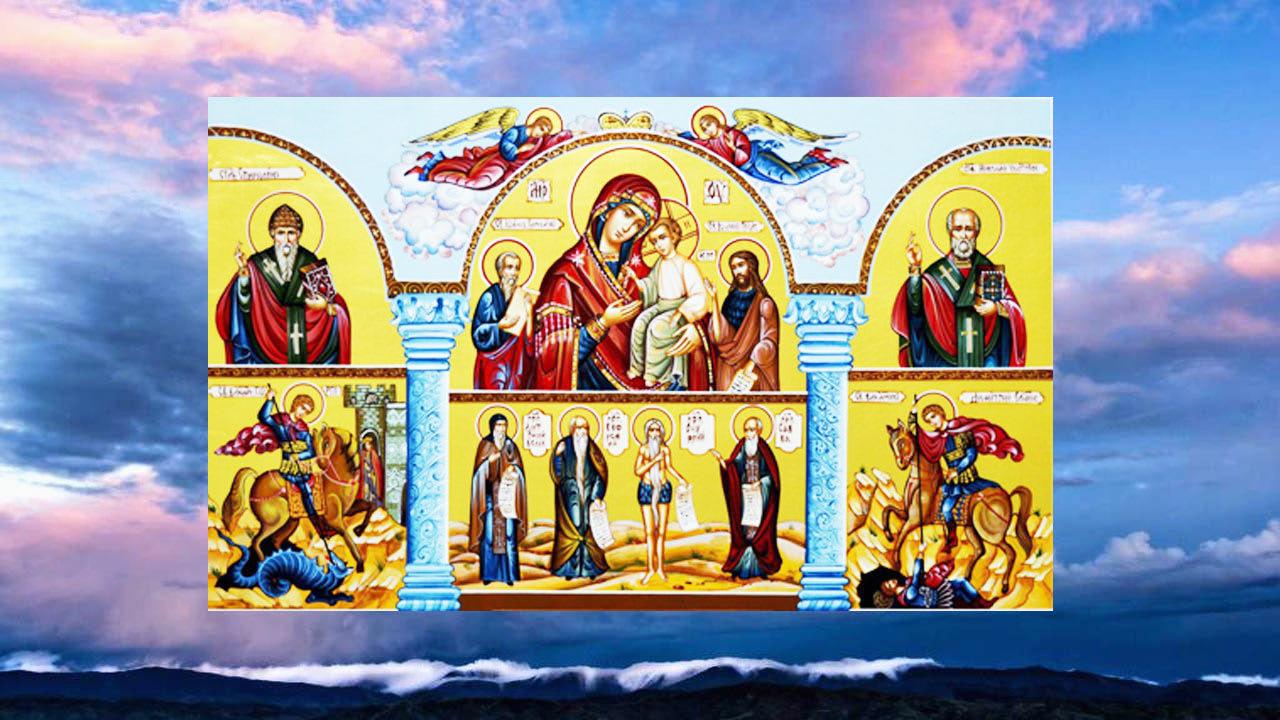 иконе Божией Матери «В скорбех и печалех Утешение»