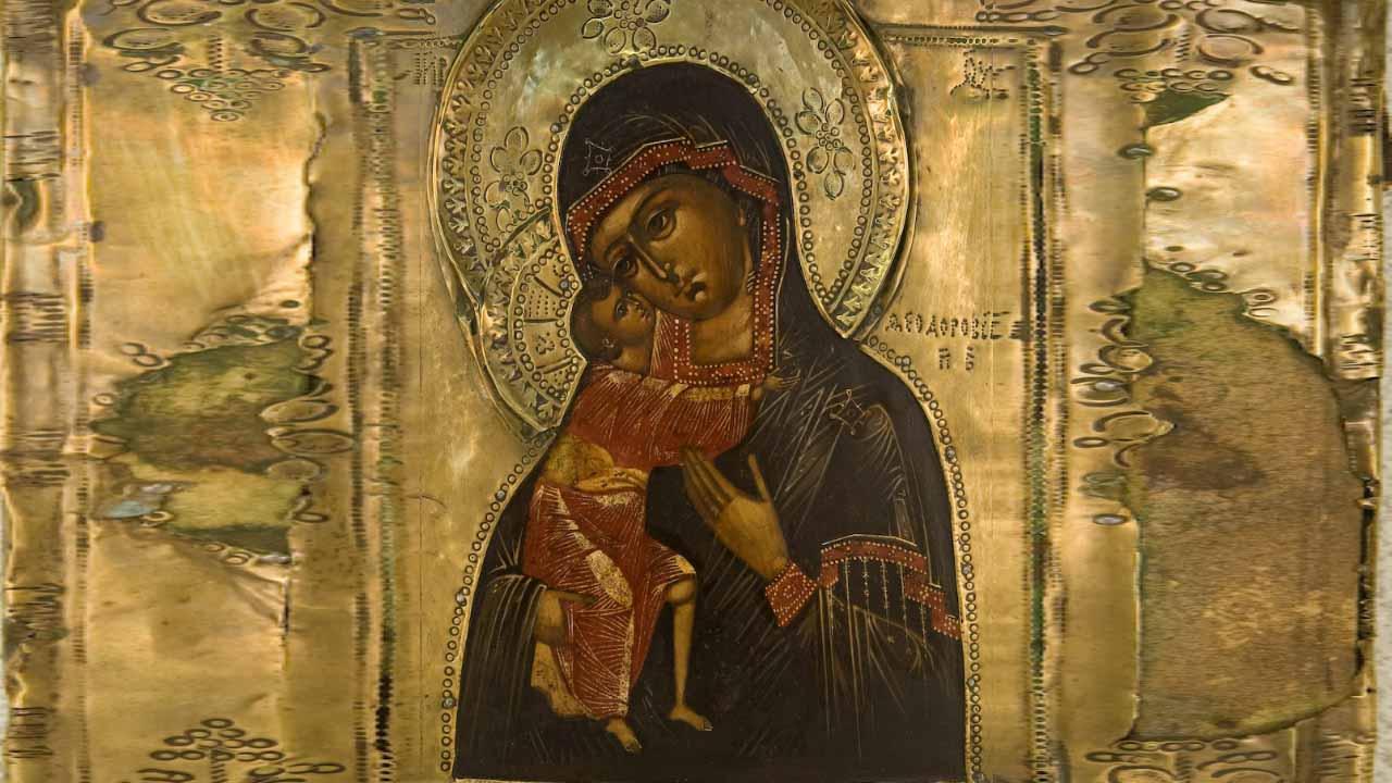 иконе Божией Матери Фео́доровская