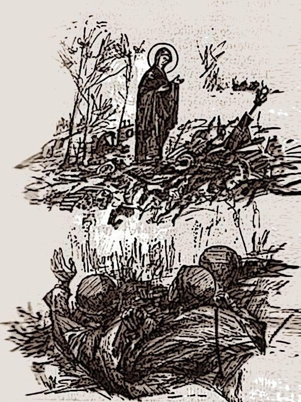 иконе Божией Матери Явления Богородицы в Великой Отечественной войне