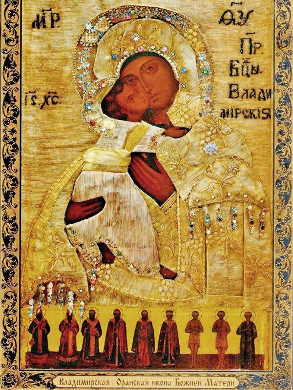 иконе Божией Матери Оранской Владимирской