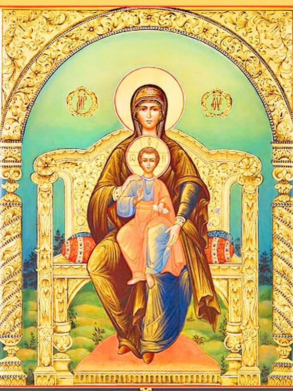 иконе Божией Матери Ярославская Печёрская