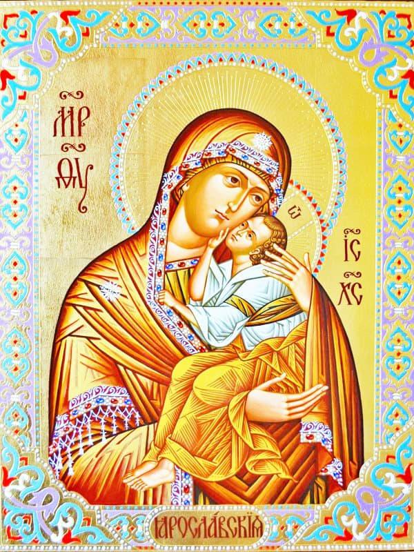 иконе Божией Матери Ярославская
