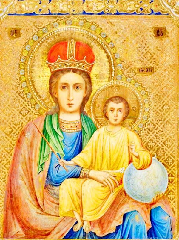 иконе Божией Матери Прежде Рождества и по Рождестве Дева