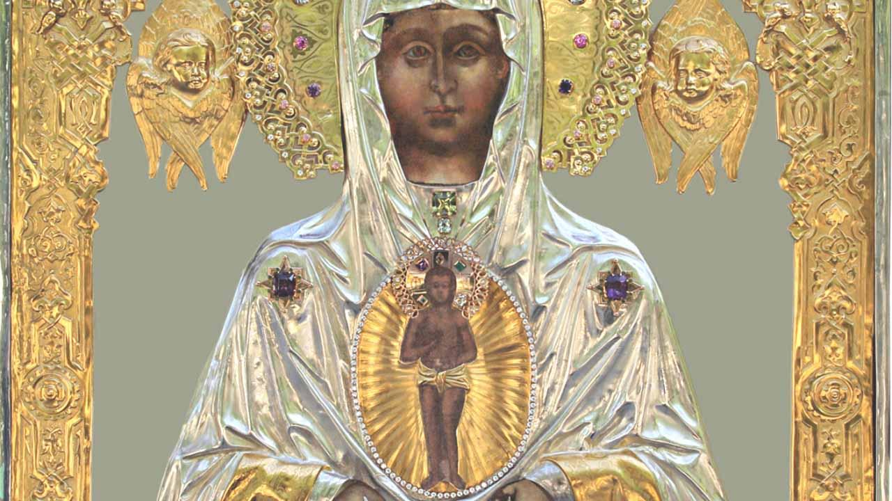 иконе Божией Матери «Слово плоть бысть» Албазинская
