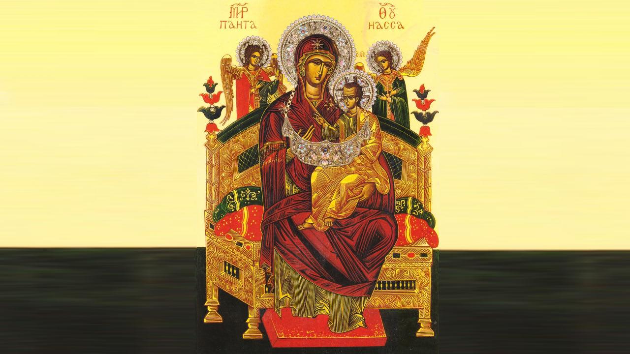 иконе Божией Матери Всецарица (Пантанасса)