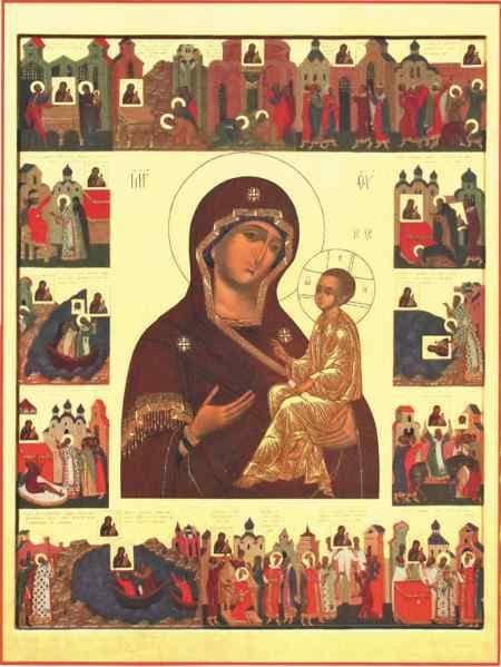 иконе Божией Матери Лиддская (На столпе в Лидде)