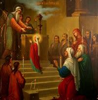 Введению во храм Пресвятой Богородицы