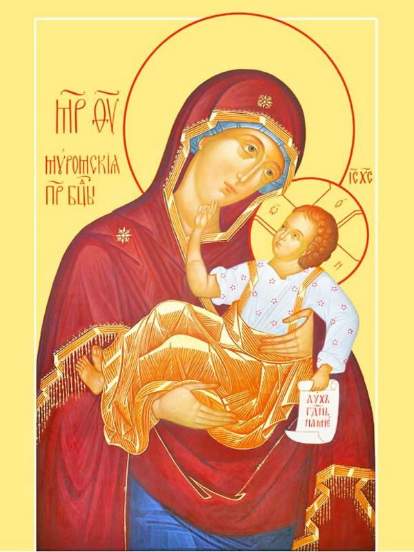 иконе Божией Матери Муромская