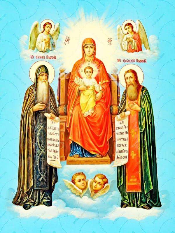 иконе Божией Матери Свенская-Печёрская