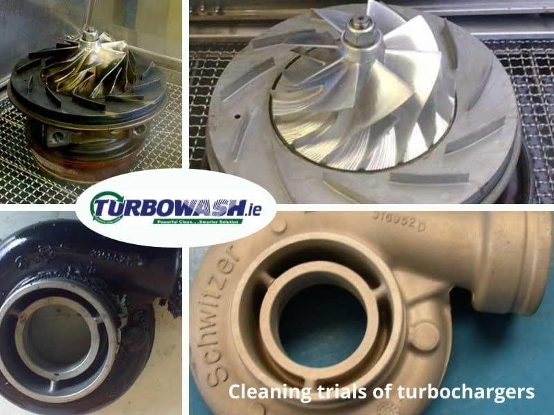 Cleaning Trials of Turbochargers