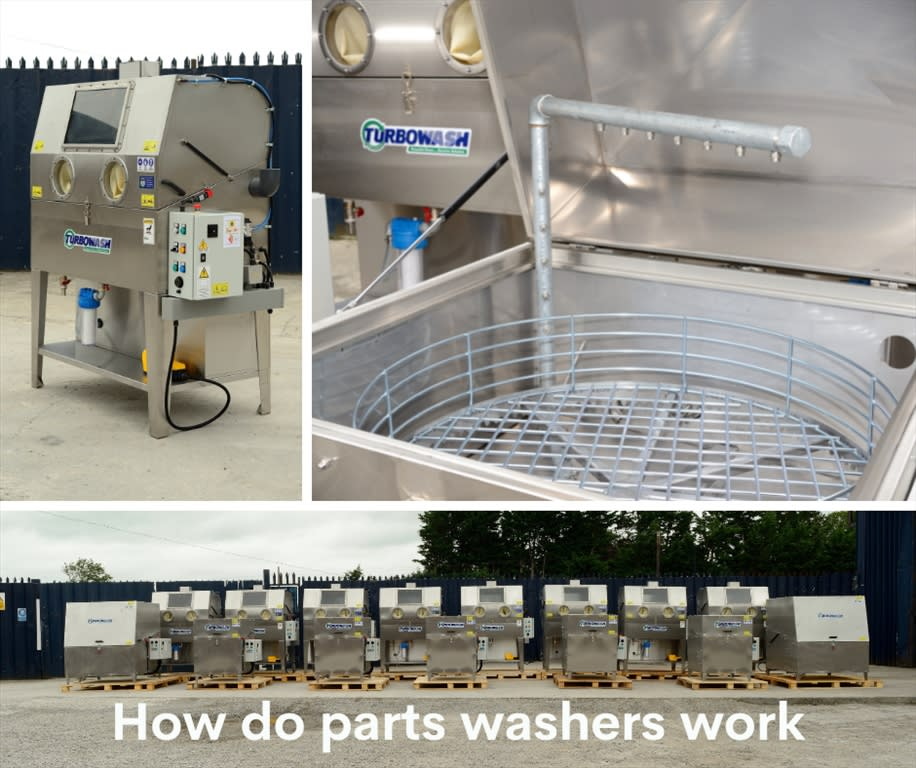 How do parts washers work?