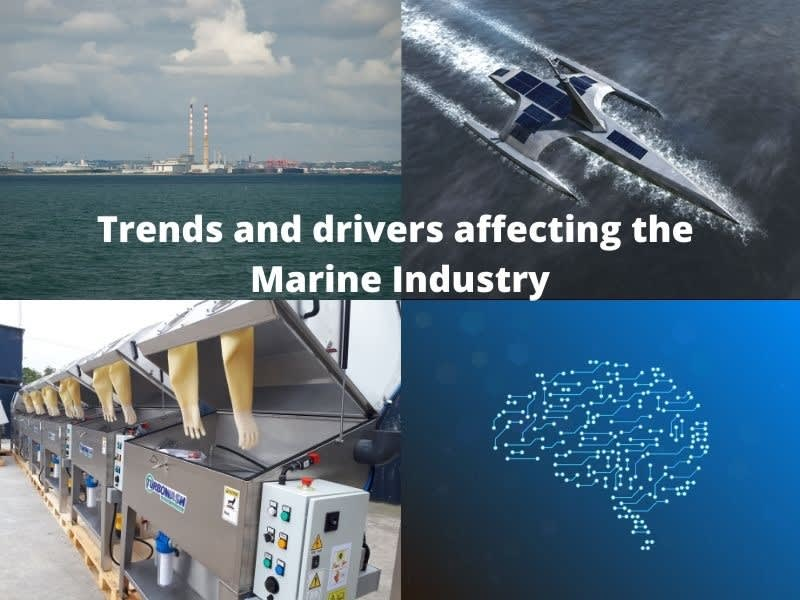 Trends and drivers affecting the Marine Industry in Ireland