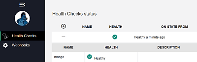 Adding Health Checks UI