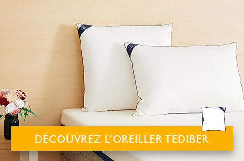 choisir oreiller tediber