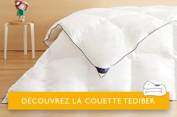 Couette Tediber blanche