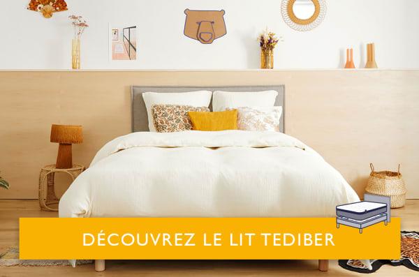 lit tediber blanc